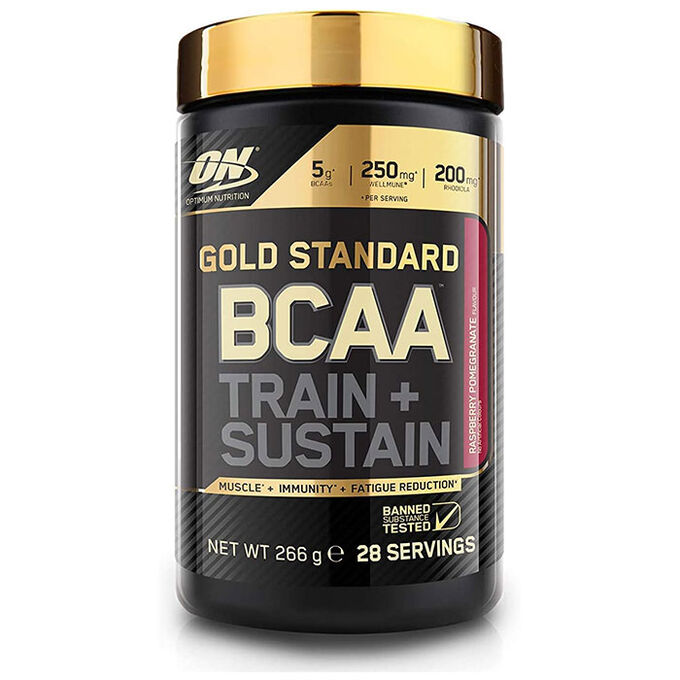 Optimum Nutrition Gold Standard BCAA 28 Servings Raspberry and Pomegranate