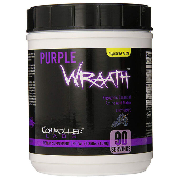 Controlled Labs Controlled Labs - Purple Wraath 90 servings - Essential amino acids