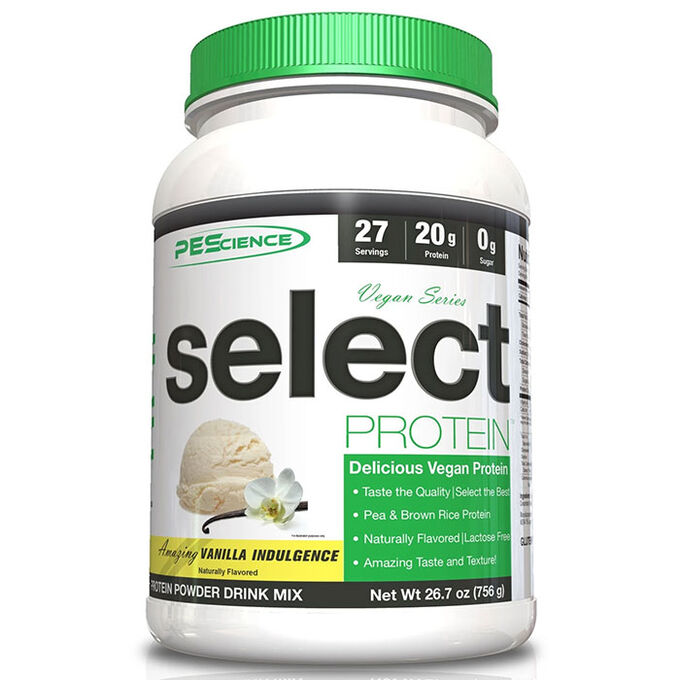 PEScience PES Select Protein Vegan Series 27 Servings -  - 20g Vegan protein per serving