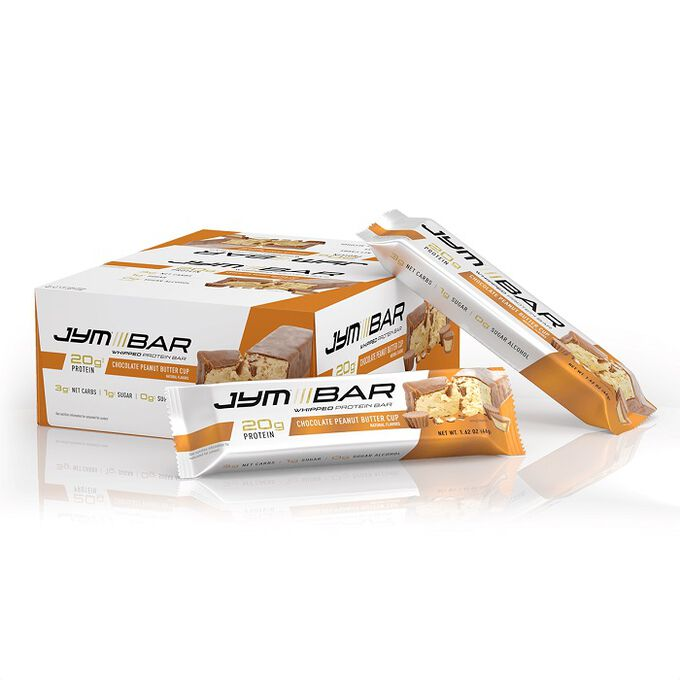 JYM Supplement Science Jym Whipped Protein Bar 12 Bars Choc Peanut Butter Cup