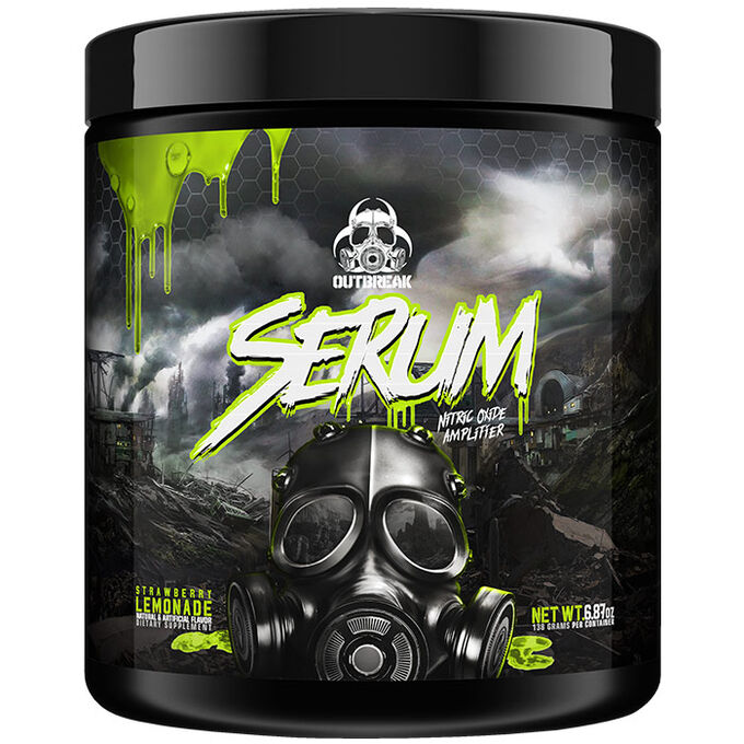 Outbreak Nutrition Serum 25 Servings Radiated Gummy Worm