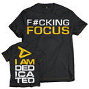 Dedicated T-Shirt F#cking Focus Small