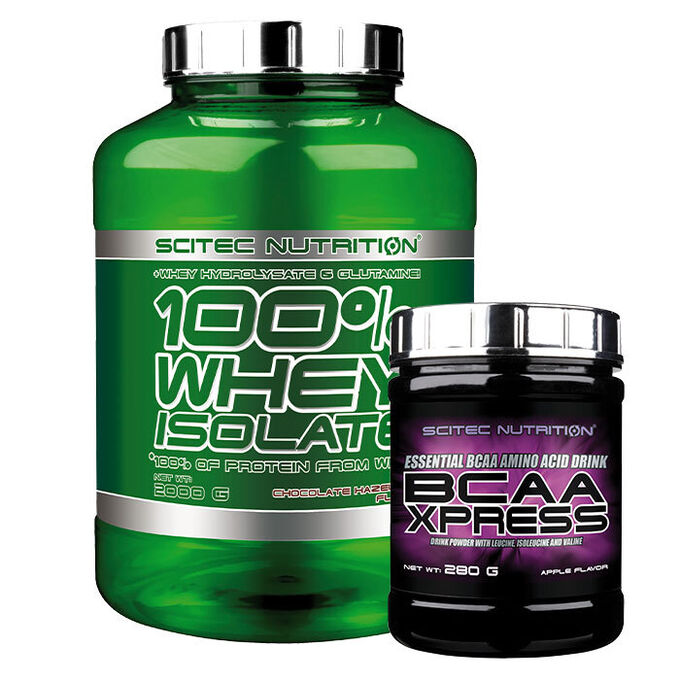Scitec Nutrition Whey Isolate 2000g Strawberry