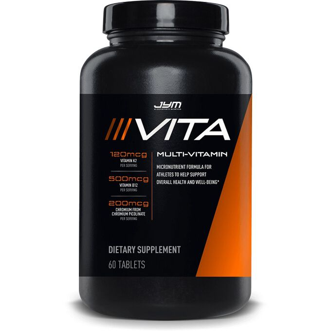 JYM Supplement Science Vita JYM 60 Tabs