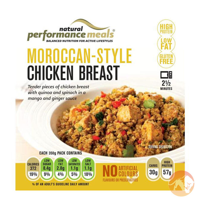 Performance Meals Performance Meals 1 Serving - Moroccan-Style Chicken Breast