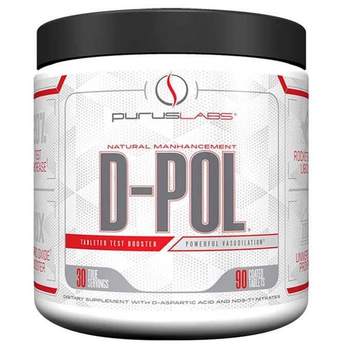 Purus Labs D-Pol Powder 30 Servings Fresh Squeezed Lemonade