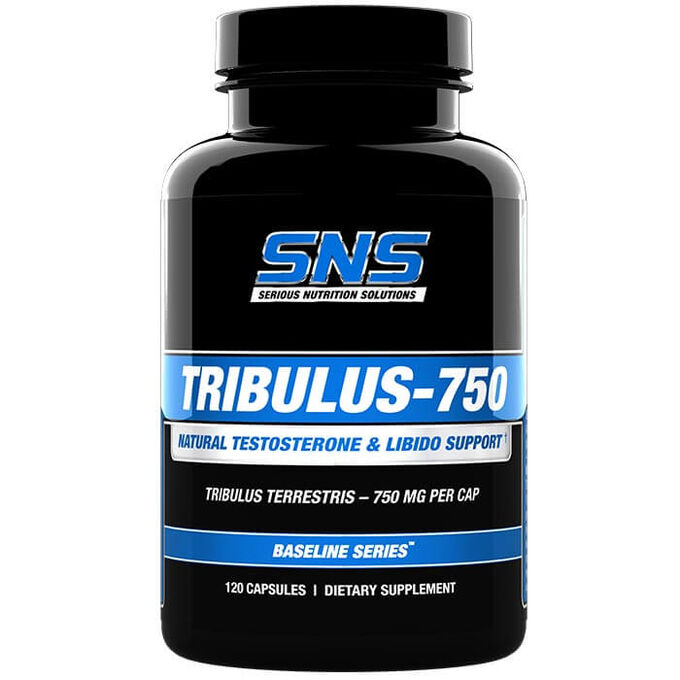 Serious Nutrition Solutions Tribulus-750 120 Caps