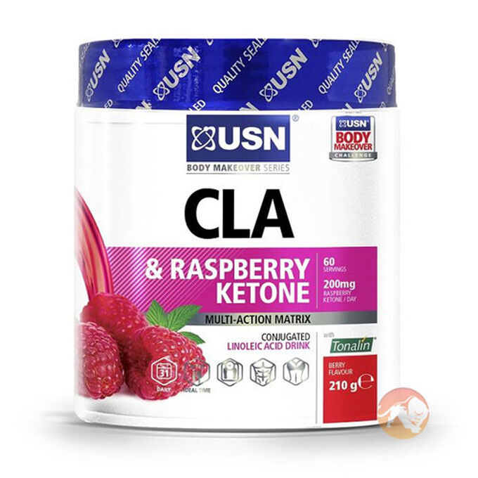 CLA and Raspberry Ketone 60 Servings Berry