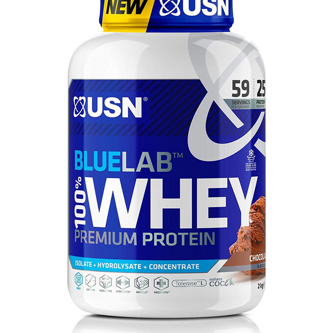 Blue Lab 100% Whey 2kg Chocolate