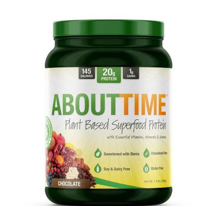 AboutTime Plant Based Superfood Protein 20 Servings Vanilla