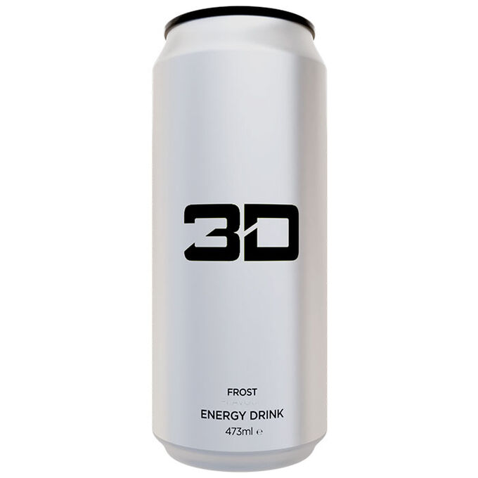 3D Energy 3D Energy Drink 1 Can White