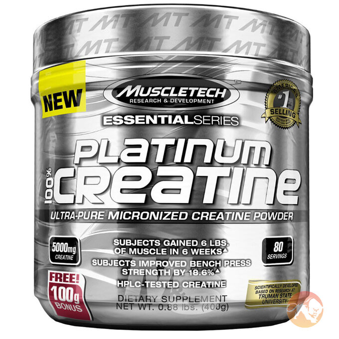 Platinum 100% Creatine 80 Servings