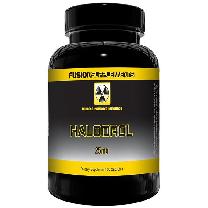 Fusion supplements Halodrol 60 Caps