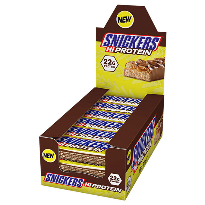 Snickers Hi-Protein Bars 12 Bars