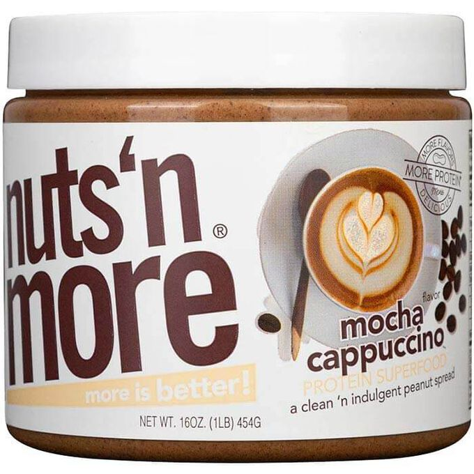 Nuts 'N More Nuts n More Peanut Butter 454g Mocha Cappuccino