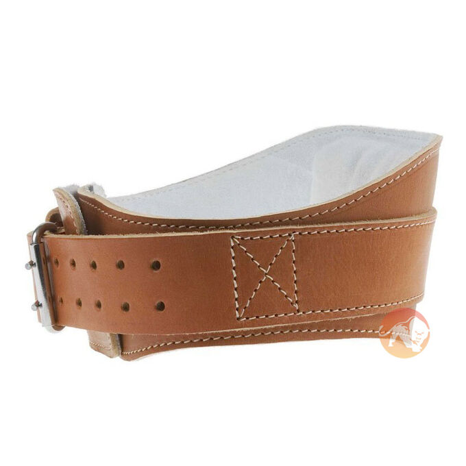 Leather Contour Belt - L