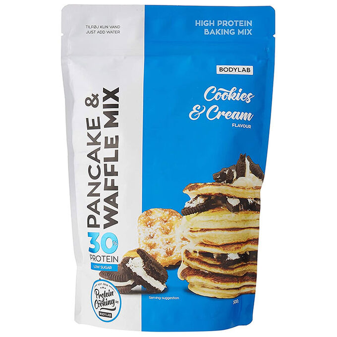 Bodylab High Protein Pancake Mix 500g Cookies and Cream
