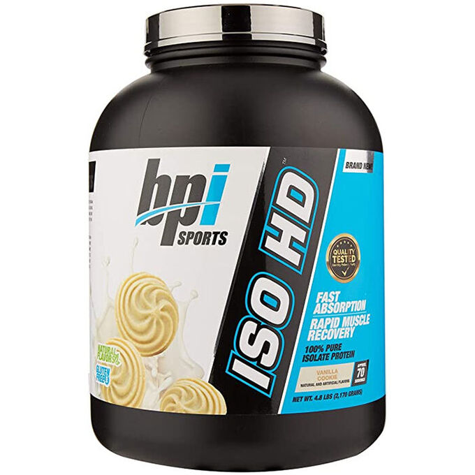 BPI Sports Iso-HD 2.2kg Vanilla Cookie