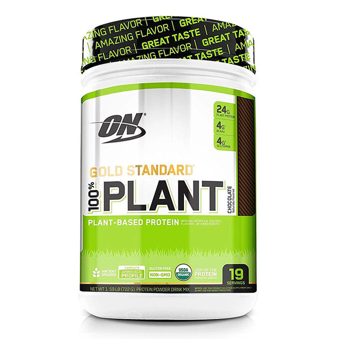 Gold Standard 100% Plant Protein 19 Servings Chocolate