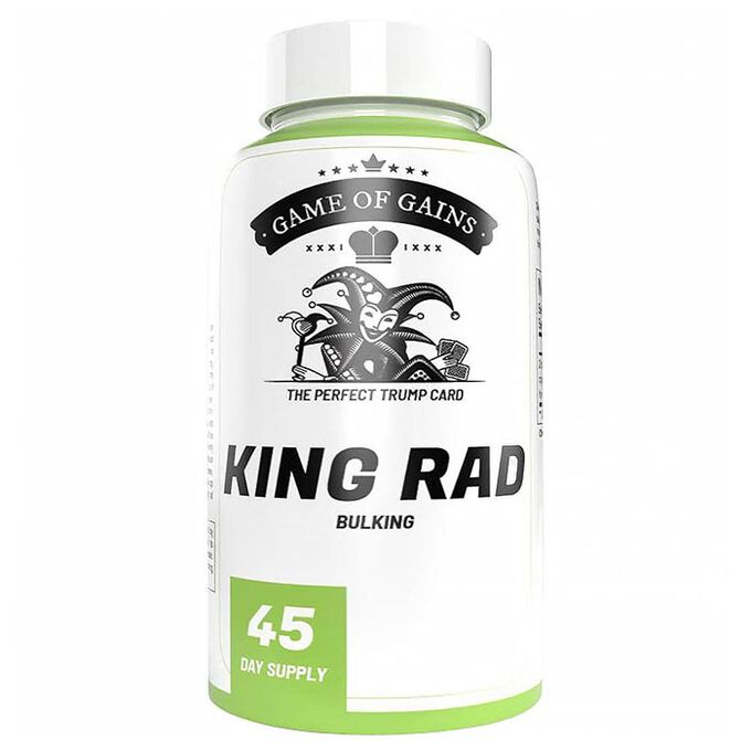 Game Of Gains King Rad 90 Capsules