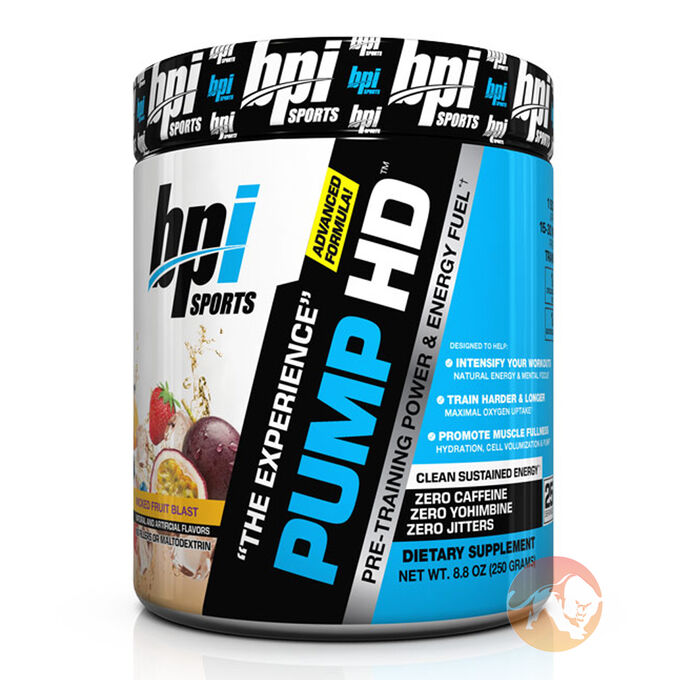 BPI Sports Pump-HD 20 Servings Wicked Fruit Blast