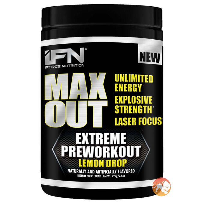 Max Out 30 Servings Rainbow Sherbert