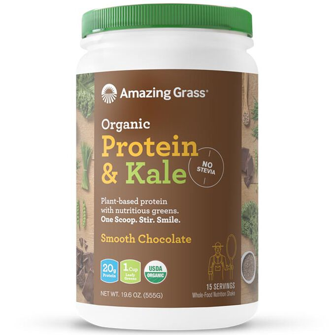 Amazing Grass Protein & Kale 15 Servings Smooth Chocolate