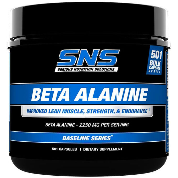 Serious Nutrition Solutions Beta Alanine 501 Caps
