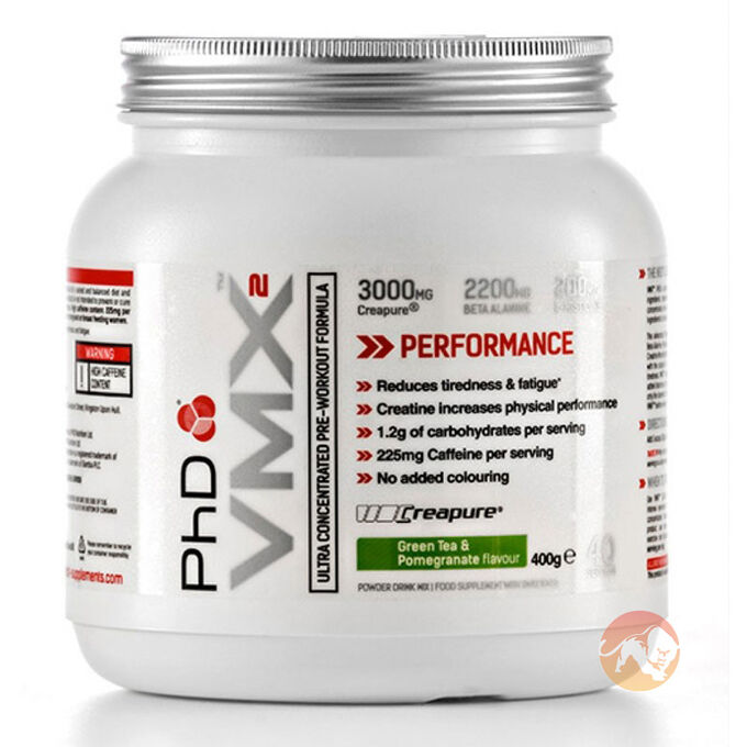 PHD Nutrition VMX2 20 Servings Raspberry Lemonade