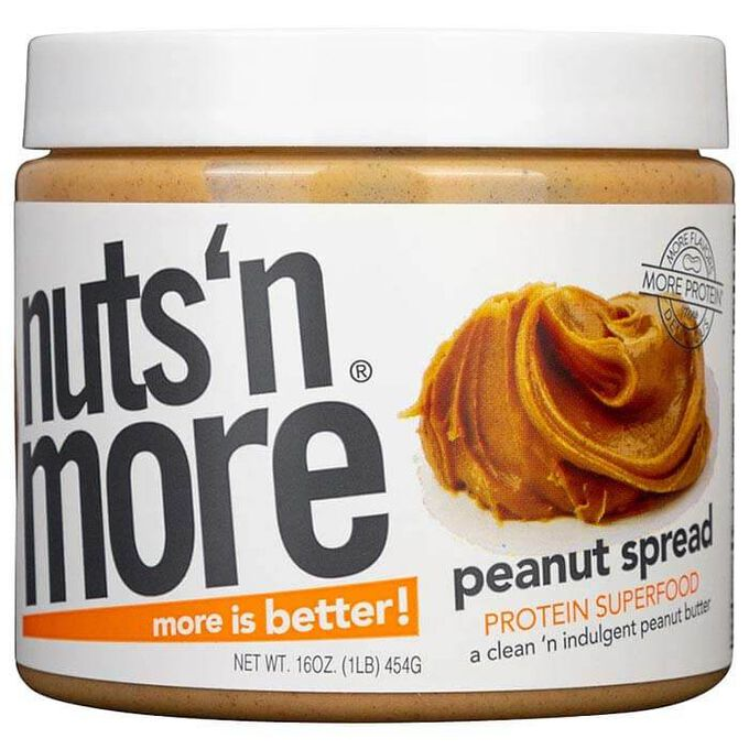 Nuts 'N More Nuts 'N More Peanut Butter 454g
