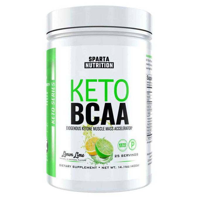 Keto BCAA 25 Servings Lemon Lime