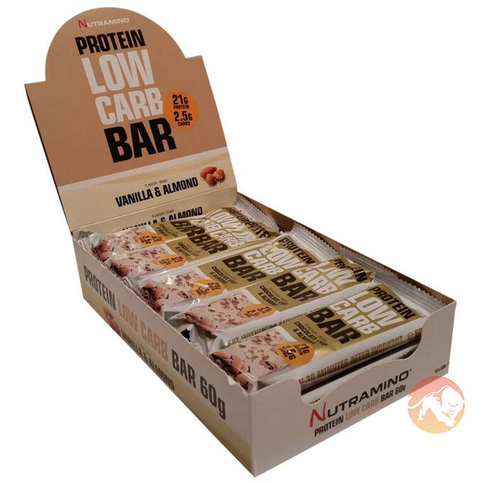 Protein Low Carb 12 Bars Chocolate Chip Cookie Dough