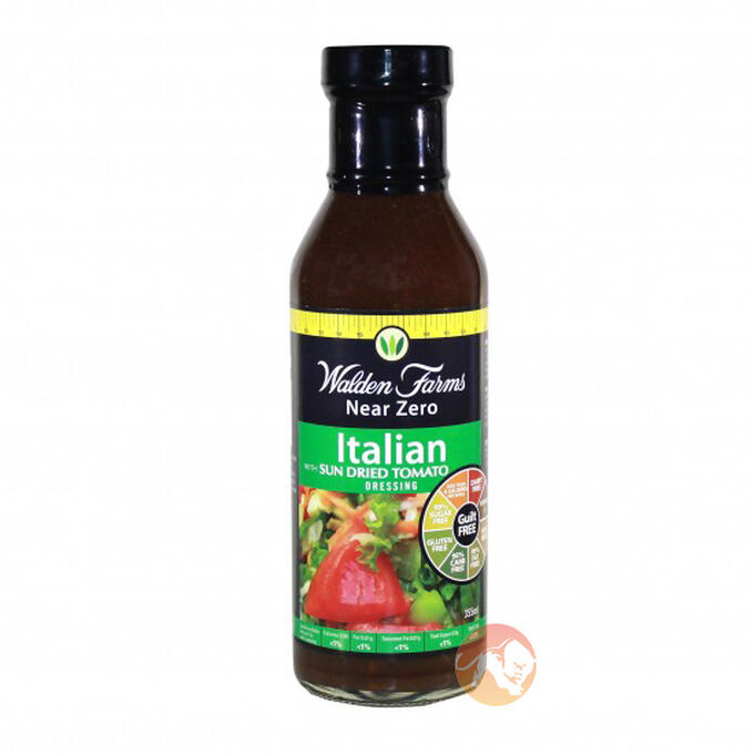 Walden Farms Calorie Free Italian Sun Dried Tomato Dressing 355ml