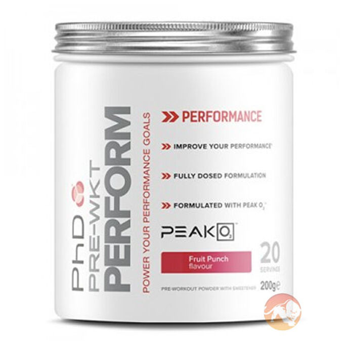 PHD Nutrition Pre-Wkt Perform 20 Servings Fruit Punch