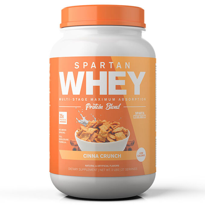 Spartan Whey 27 Servings Cinna Crunch