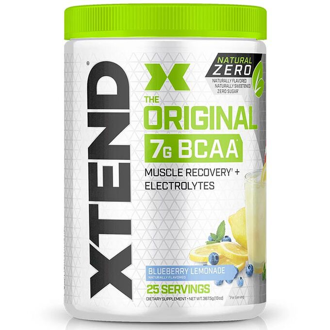 Scivation Xtend Natural Zero 25 Servings Blueberry Lemonade