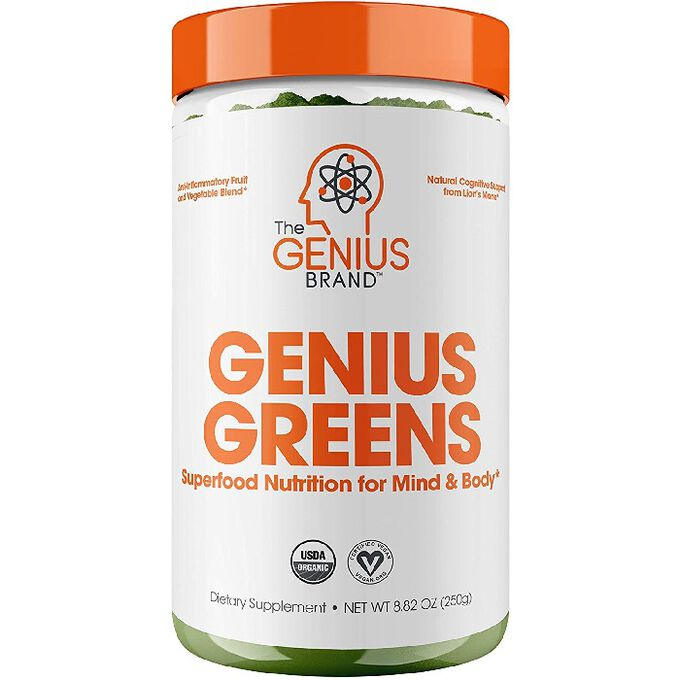 The Genius Brand Genius Greens 20 Servings