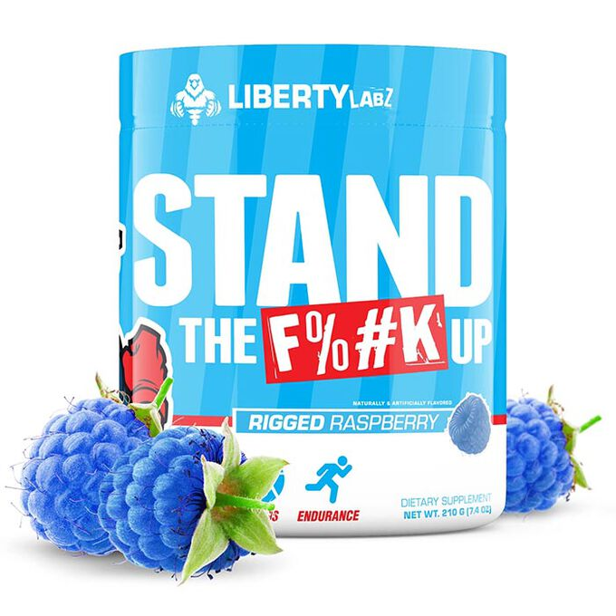 Stand The F%#k UP 30 Servings Rigged Raspberry