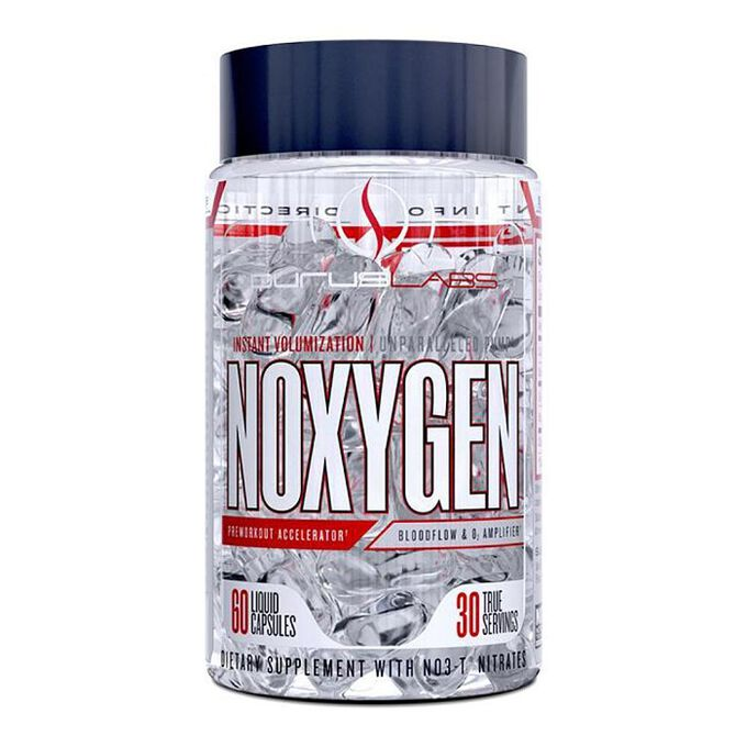 Purus Labs Noxygen Pre-Workout Enhancer 60 Liquid Capsules