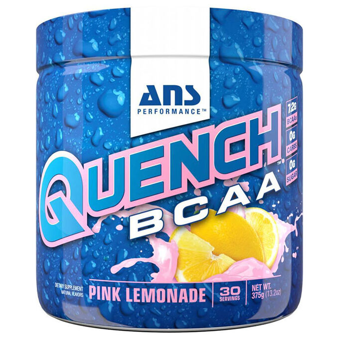 ANS Performance Quench BCAA 30 Servings Pink Lemonade