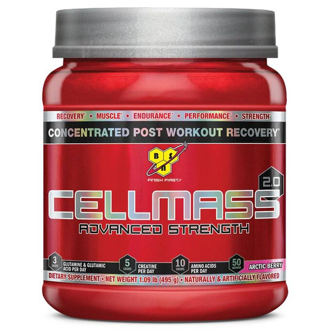 BSN Cellmass 2.0 50 Servings Arctic Berry Blast