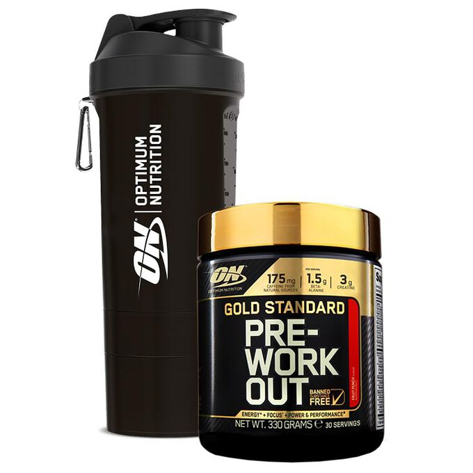 Gold Standard Pre-Workout 30 Servings - Fruit Punch