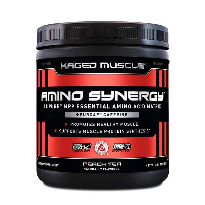 Kaged Muscle Amino Synergy + Caffeine 30 Servings Orange