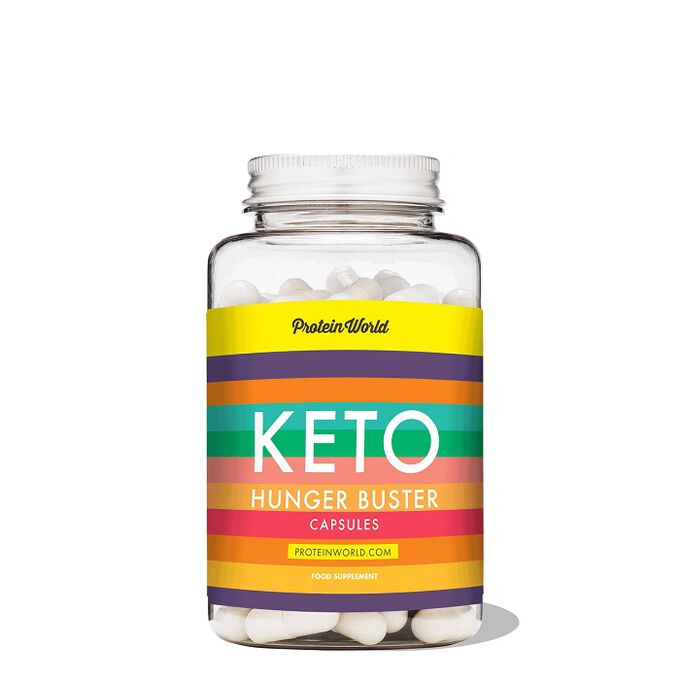 Protein World Keto Hunger Buster 90 Capsules