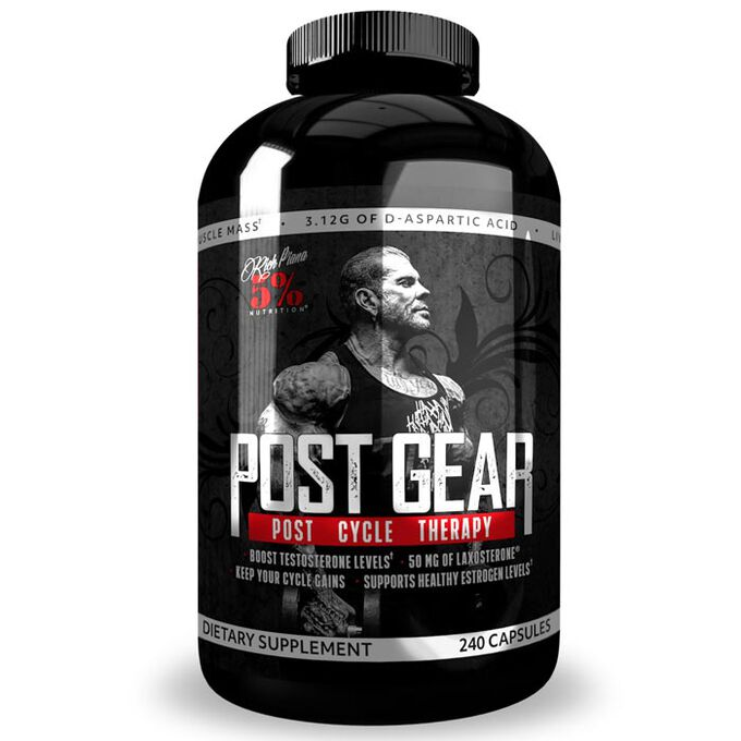 5% Rich Piana Post Gear 240 Capsules