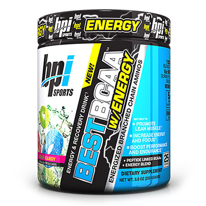 BPI Sports Best BCAA w/energy 25 Servings Sour Candy