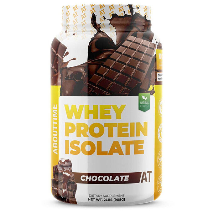 AboutTime Whey Protein Isolate 907g Chocolate