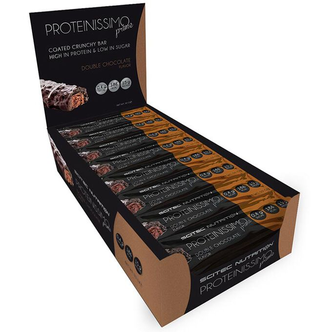 Proteinissimo Prime 24 Bars Double Chocolate