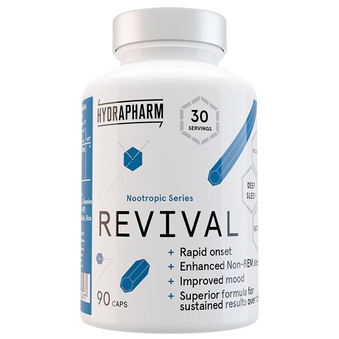 Hydrapharm Revival 30 servings - Improves sleep and mood