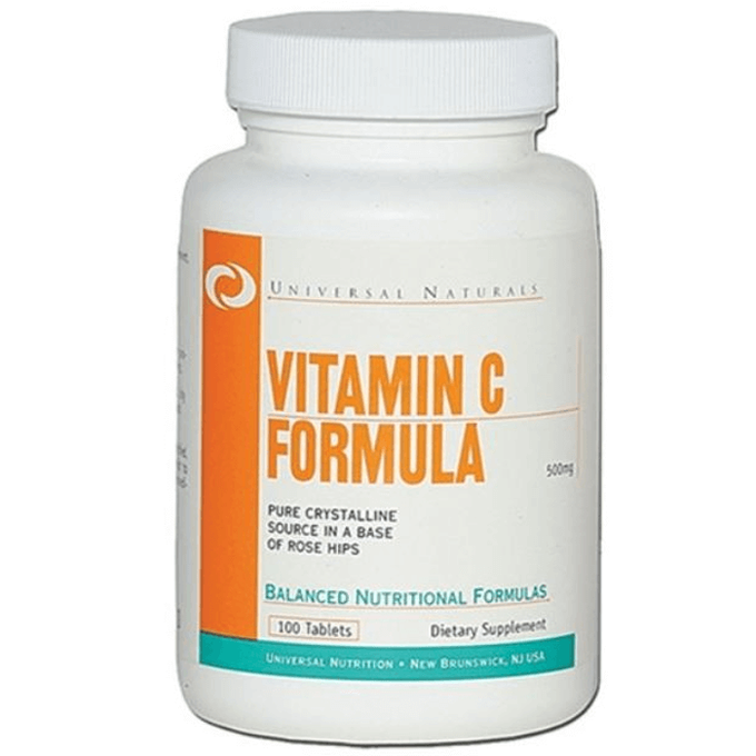 Universal Vitamin C 500mg 100 Tablets